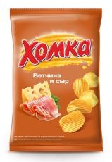 Чипсы «Хомка» ветчина с сыром